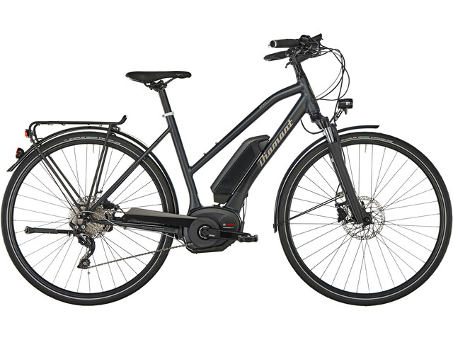 diamant elan g e trekking bike trapez black at. Black Bedroom Furniture Sets. Home Design Ideas